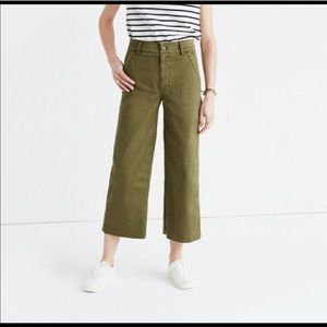 Madewell Dearborn Wide Leg pant size 29